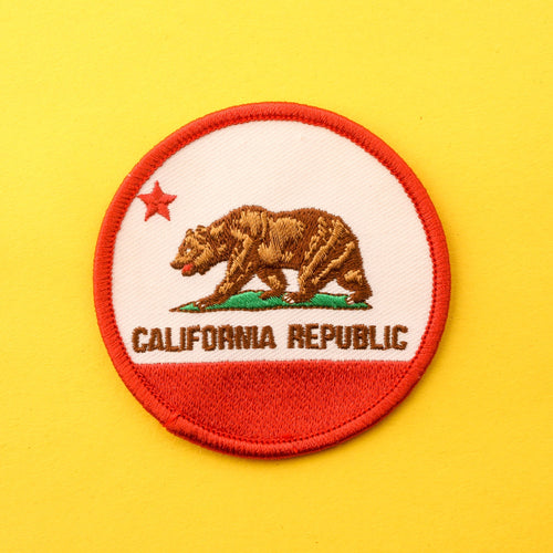 California Republic Bear Patch