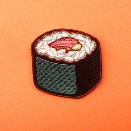 California Roll Sushi Patches