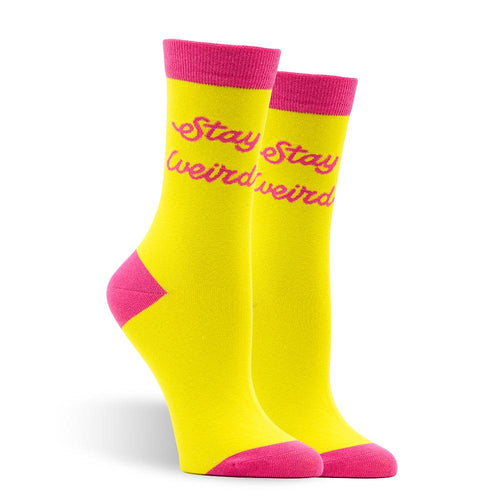Stay Weird Women's Socks