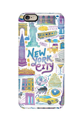 NYC Collage iphone case