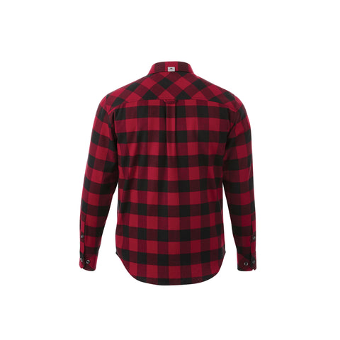 Sprucelake Roots Longsleeve T-Shirt - Dark Red/Black (Men's)