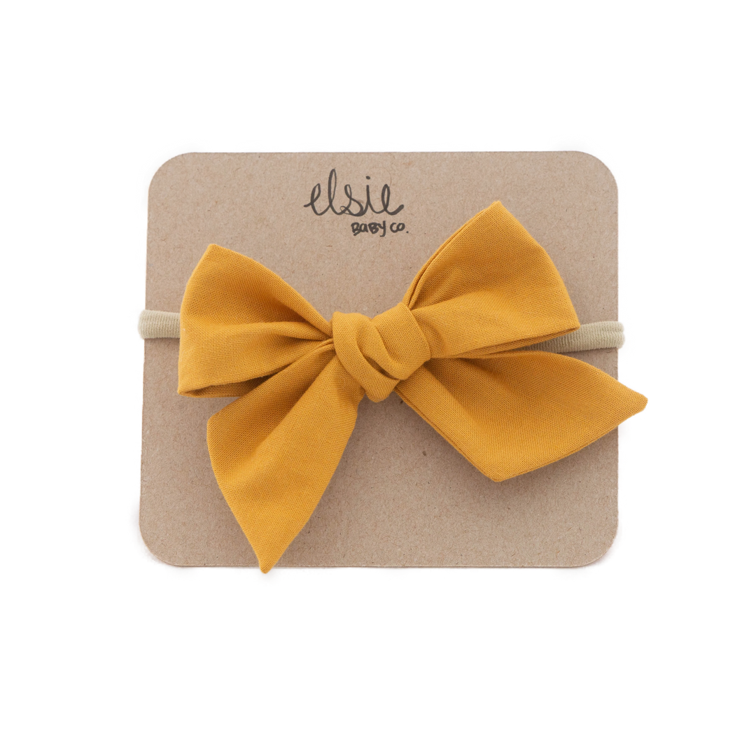 Mustard Bow - Large
