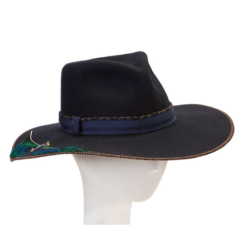 Giovannio X Cha Cha's House Feather Brim Rancher