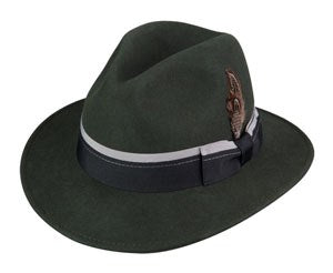 Broner Detective Hat in Color Pine