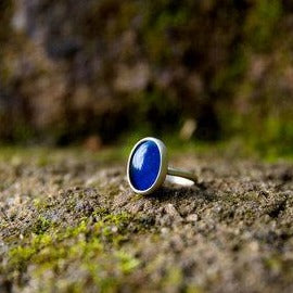 Feral Blue Mood Ring