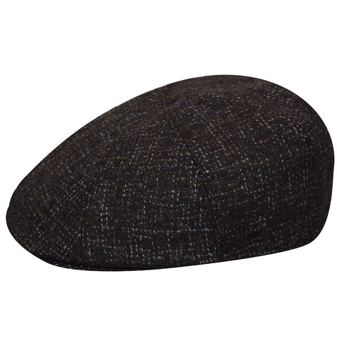 Bailey Noah 8 Panel Ivy Driving Cap in Charcoal or Navy