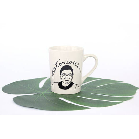Guy Piper Notorious Ruth Bader Ginsburg Coffee Mug
