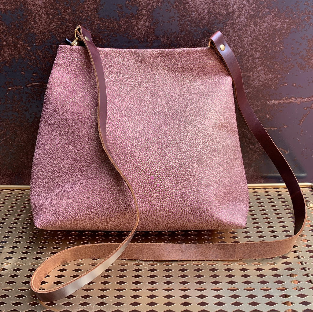 AmFm Murphy Tote Bag in Rose Gold