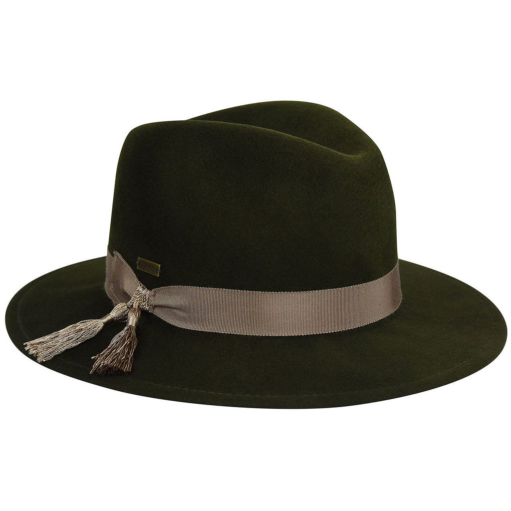 Betmar Ashland Wool Felt Ladies Fedora Hat
