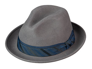 Broner Iconic Fedora in Ash