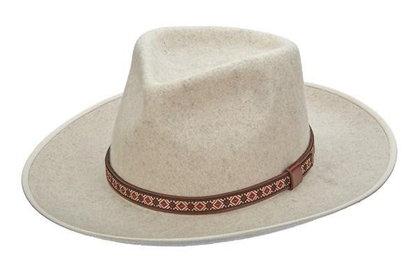 Brooklyn Hat Co Western Wool Hat