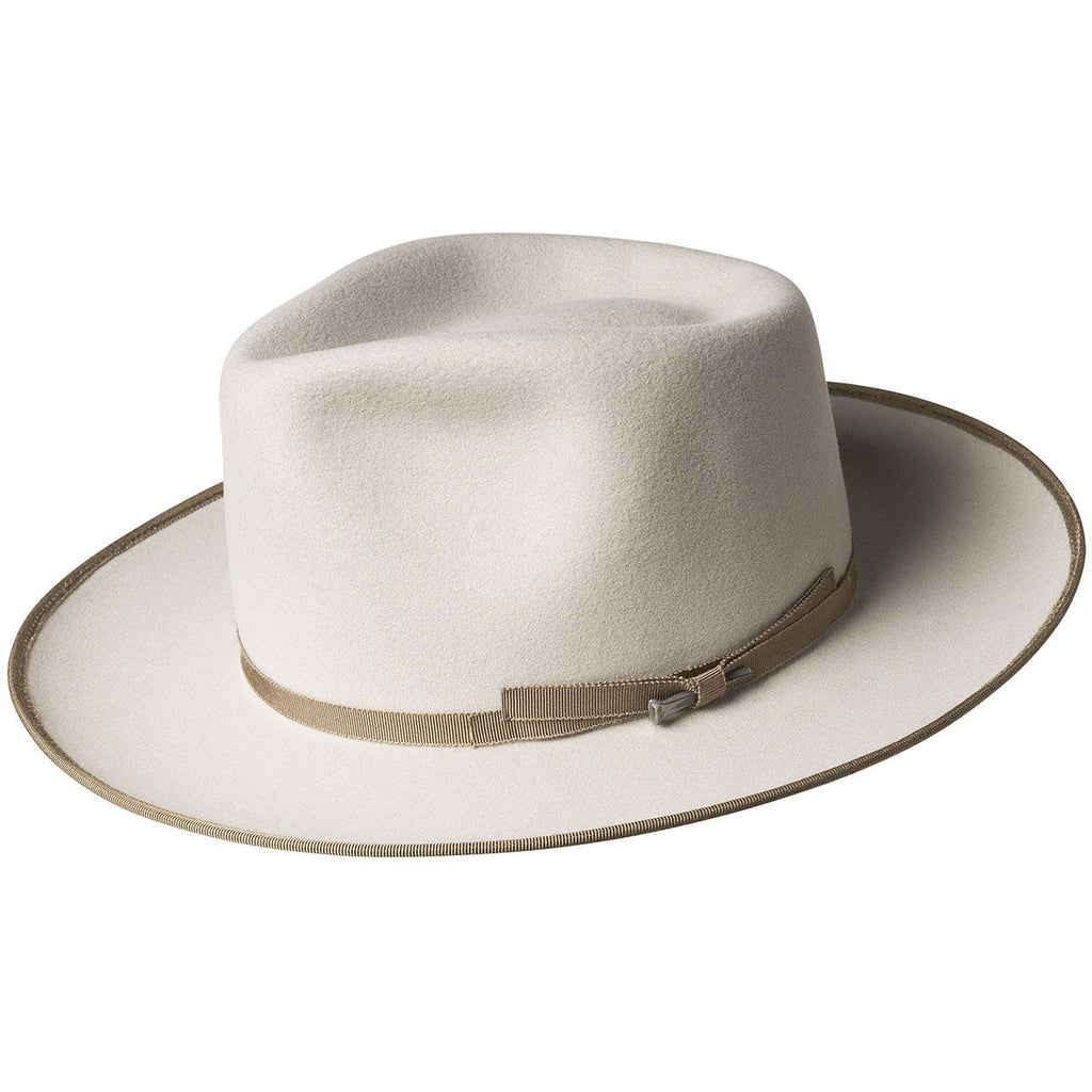 Bailey Colver Western Fedora Hat in Silverlining