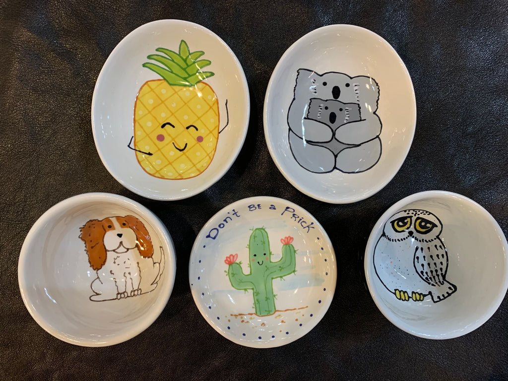 The Crafty Fox Whimsical Bowls