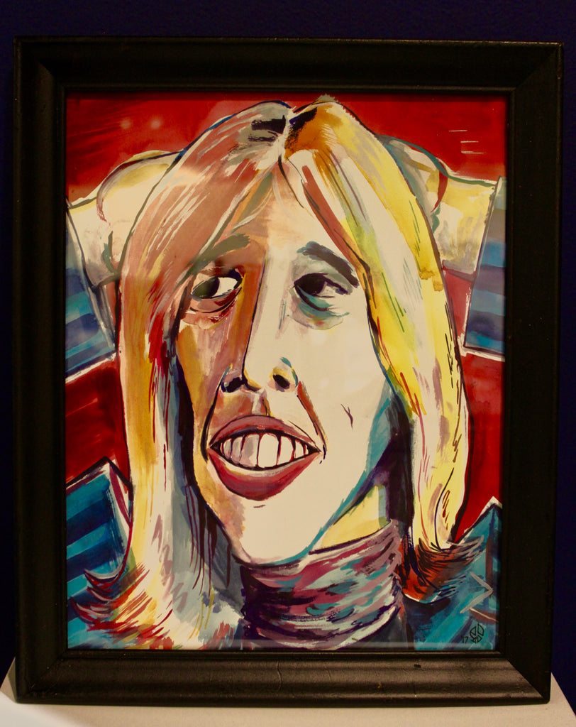 Tom Petty Painting
