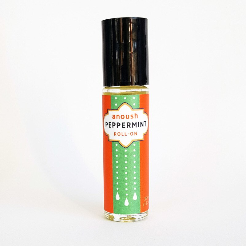 Anoush Peppermint Essential Oil Roll-On