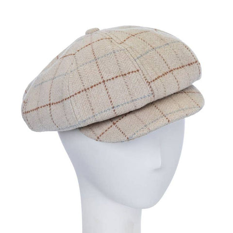Giovannio Plaid Newsboy Cap