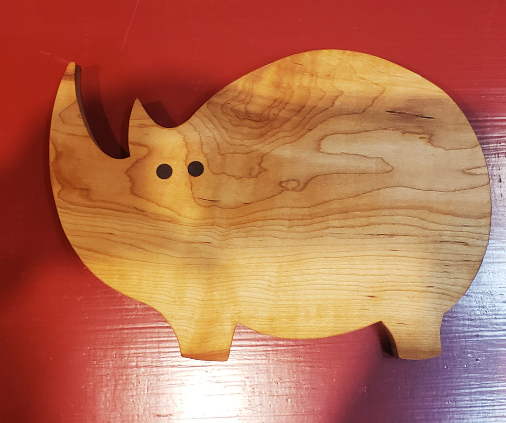 Rhino cutting board