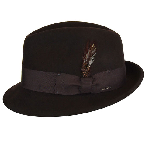Bailey Tino Fedora In Basalt