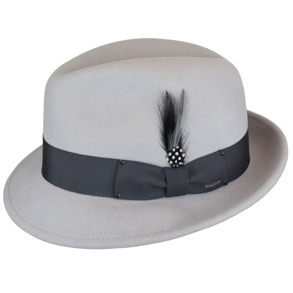 Bailey Tino Fedora in Platinum