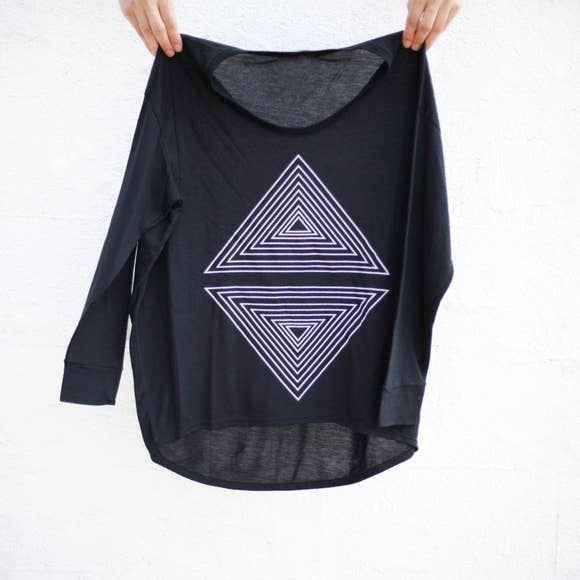 Blackbird Supply Co Wm Rule of Thirds Dolman Tee
