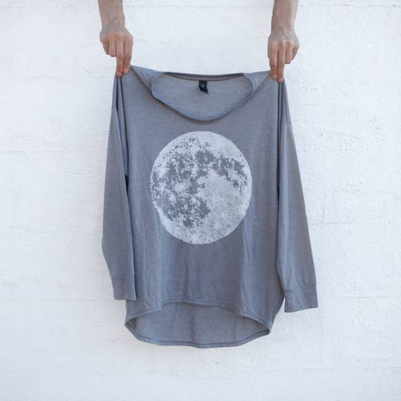 Blackbird Supply T Shirt : Full Moon Dolman Shirt