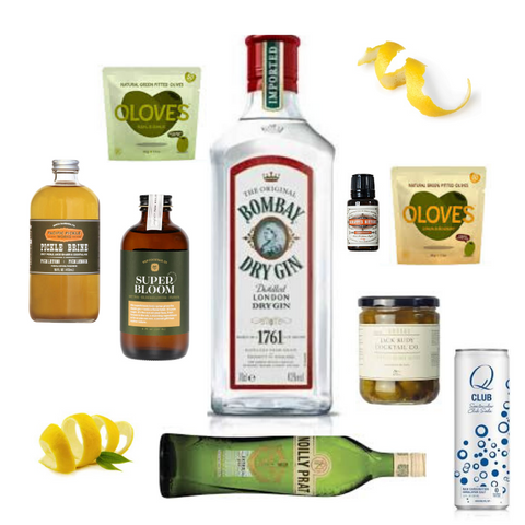 Crafted Taste McGlashan Cocktail Kit - Jameson Irish Whisky and Oloroso Sherry