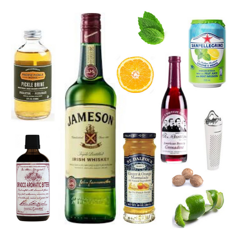 Crafted Taste Cocktail Kit - McGlashan Jameson Irish Whiskey and Oloroso Sherry