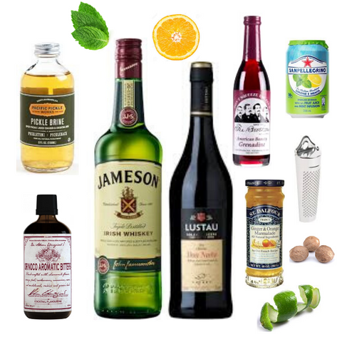 Crafted Taste Cocktail Kit - McGlashan - Jameson Irish Whiskey And Oloroso Sherry