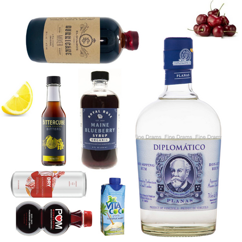 Crafted Taste Patriotic Cocktails with Diplomatico Rum and Hess the Lion Tamer