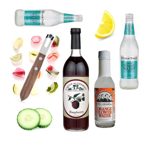 Crafted Taste Cocktail Kits Hello Limoncello Luxardo and Sipsmith London Gin