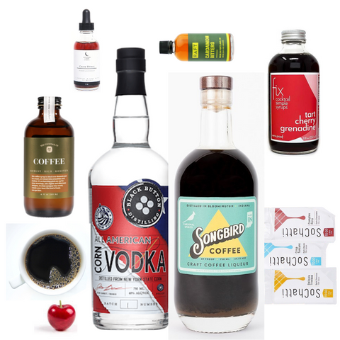 Crafted Taste Cocoa and Bean Cocktail Kit  - Espresso Martini