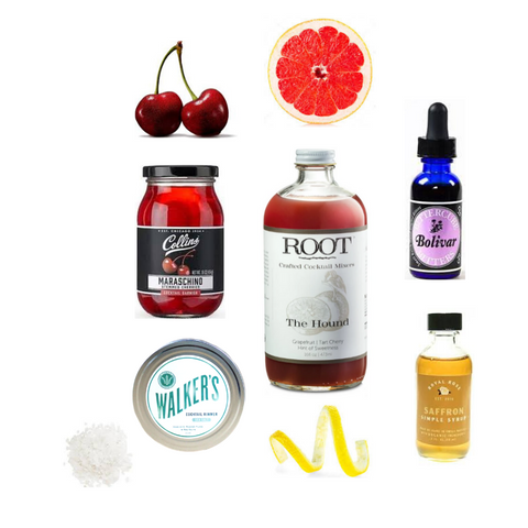 Crafted Taste Cocktail Kit - Man's Best Friend - Crop Vodka and Pamplemousse