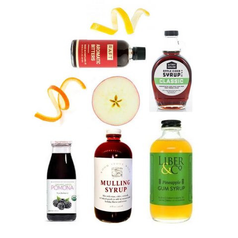 Crafted Taste Sidecar Cocktail Kit with Cognac and Cointreau