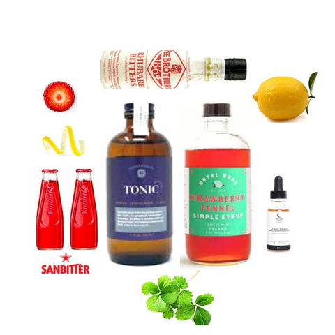 Crafted Taste Malfy Gin Sanbitters Mamma Mia Cocktail Kit