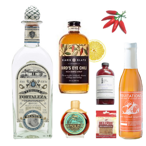 Crafted Taste Bird's Eye Margarita Cocktail Kit - 1800 and Fontaleza Tequila