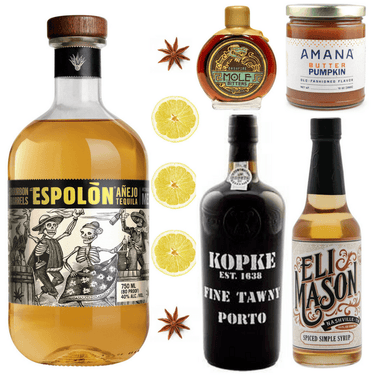 Crafted Taste Cocktail Kit Añejo Spiced Old Fashioned Cocktail Kit
