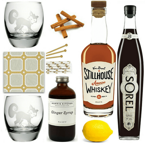 Crafted Taste Cocktail Kit Bit By a Fox | Winter Trickster Cocktail Kit