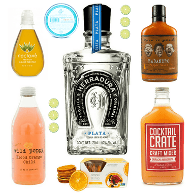 Crafted Taste Cocktail Kit Blood Orange Habanero Margarita Cocktail Kit