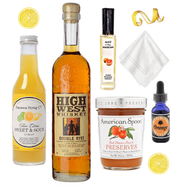 Crafted Taste Cocktail Kit Citrus Blossom Sour Cocktail Kit