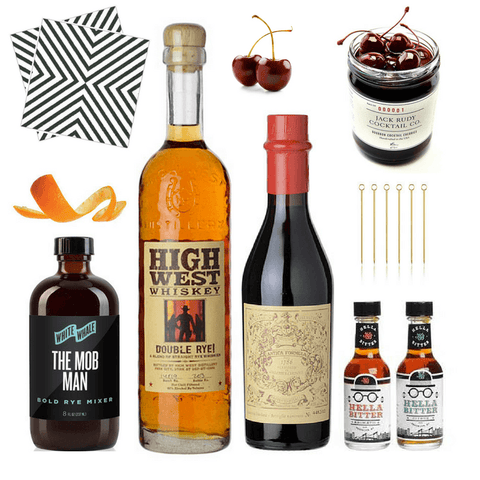 Crafted Taste Cocktail Kit Classic Manhattan Cocktail Kit