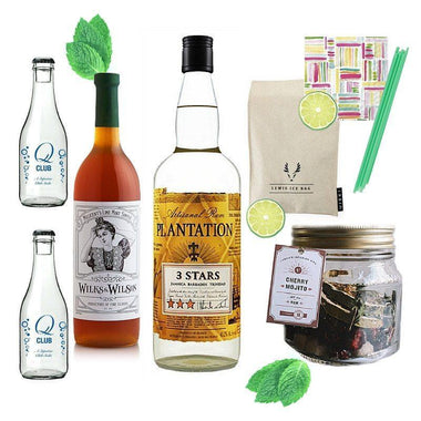 Crafted Taste Cocktail Kit Classic Mojito Cocktail Kit