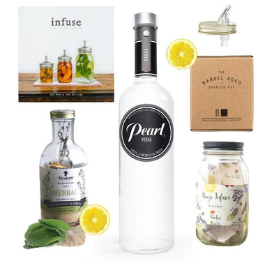 Crafted Taste Cocktail Kit Full Kit w/ Alcohol Infusion Smash Cocktail Kit
