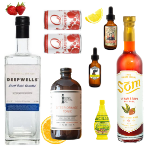 Crafted Taste Cocktail Kit Full Kit w/ Alcohol The Special Agent Cocktail Kit - GIN & LILLET