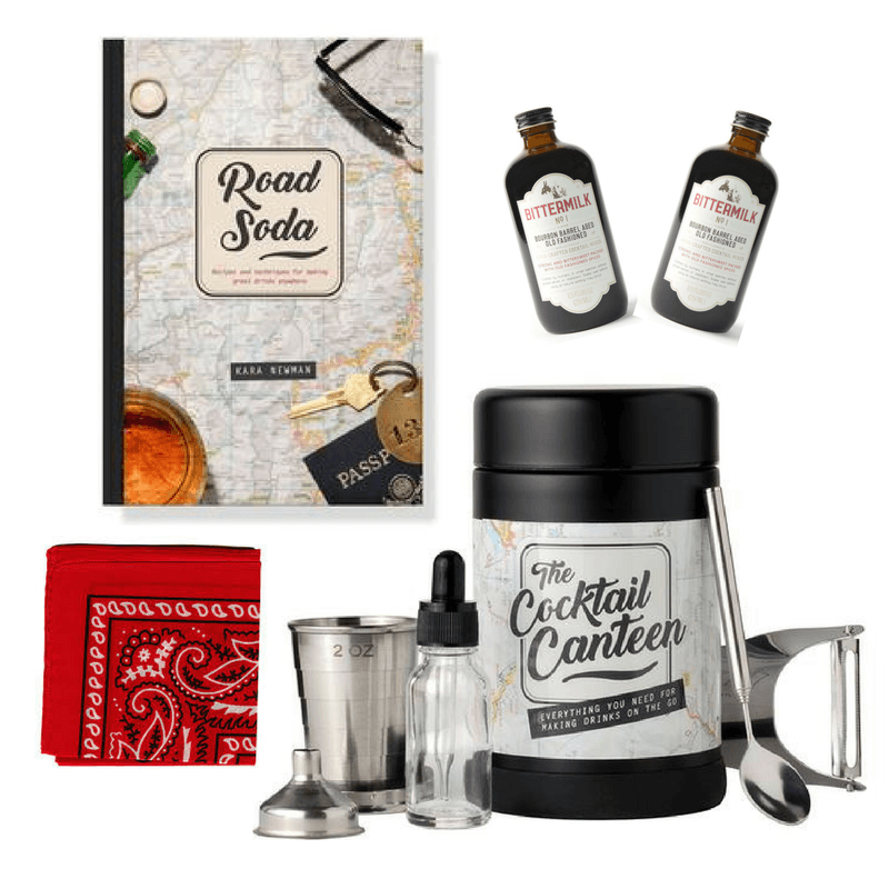 Crafted Taste Cocktail Kit In Case of Emergency Travel Cocktail Kit