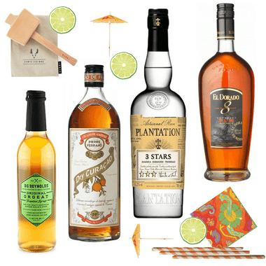 Crafted Taste Cocktail Kit Mai Tai Cocktail Kit