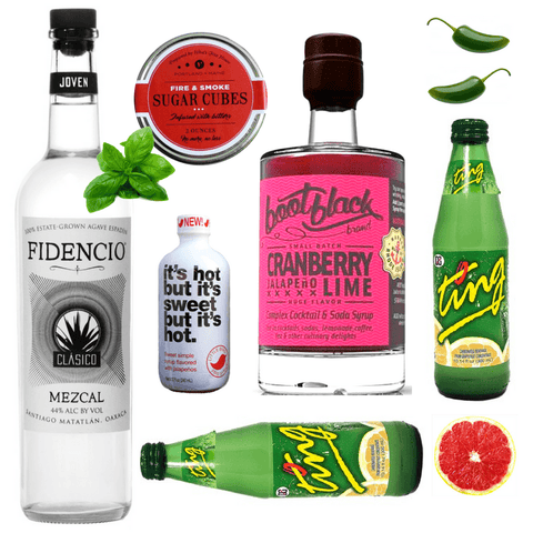 Crafted Taste Cocktail Kit Mezcal Julep Cocktail Kit