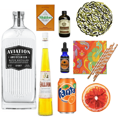 Crafted Taste Cocktail Kit Modern Harvey Wallbanger Cocktail Kit