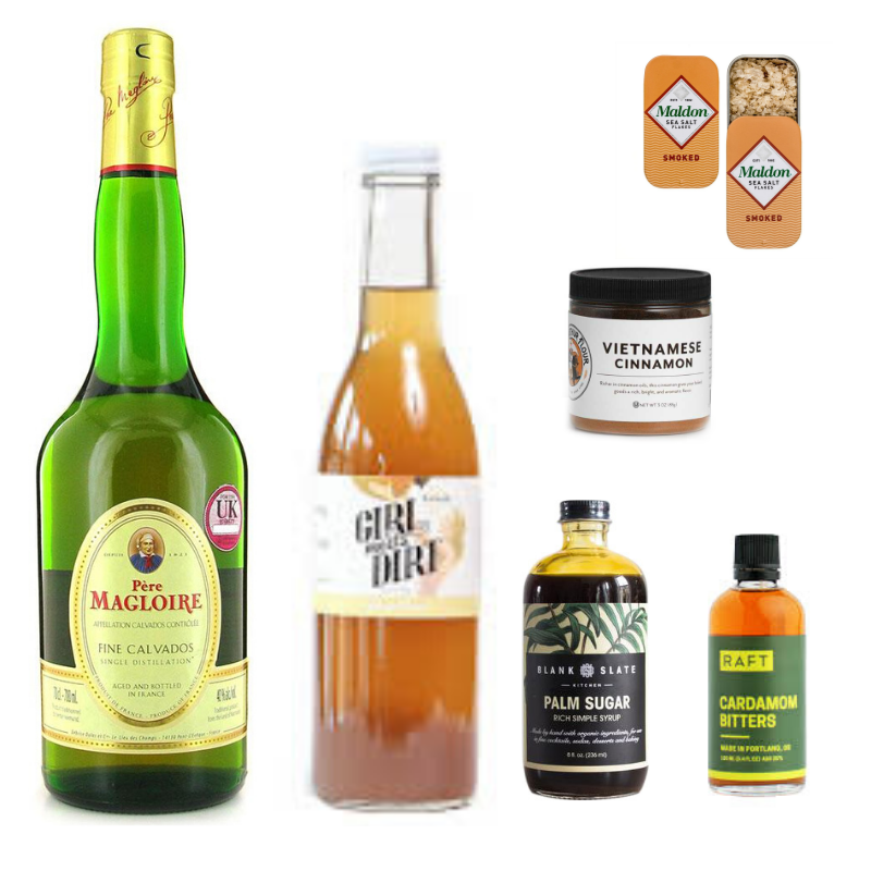 Crafted Taste Cocktail Kit Salted Caramel Apple Cocktail Kit - CALVADOS