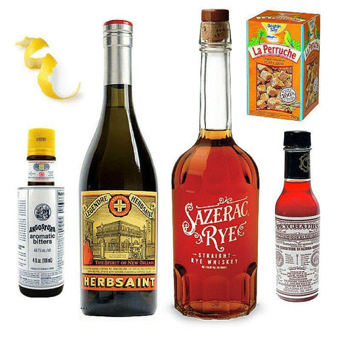 Crafted Taste Cocktail Kit Sazerac Cocktail Kit