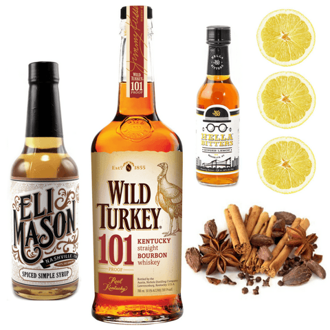 Crafted Taste Cocktail Kit Spiced Hot Toddy Cocktail Kit